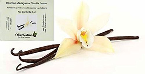 OliveNation Premium Madagascar Vanilla Beans - 1/2 lb (50-60 beans) by OliveNation by S&W Manufacturing