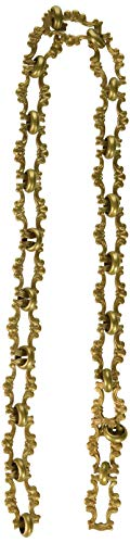 RCH Hardware CH-02-AB-3 Decorative Antique Solid Brass Chain for Hanging, Lighting - Motif Welded Links (3 ft/1 Yard) by RCH Hardware