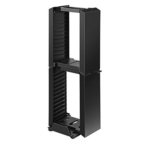 PS4/P4/Slim/Pro Storage Stand,iUcar Multifunctional Dual ...