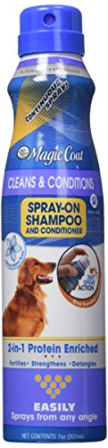 Four Paws Magic Coat Cleans and Conditions 2-in-1 Protein Enriched Continuous Spray on Dog Shampoo/Conditioner
