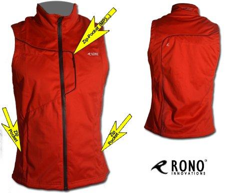 Rono Softshell Vest RT - Windstopper Laufweste / Running Vest (winddicht / wasserfest)