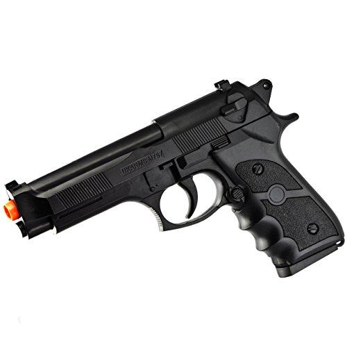 UKARMS M9 92 FS BERETTA FULL SIZE SPRING AIRSOFT PISTOL HAND GUN w/ 6mm BB BBs ()