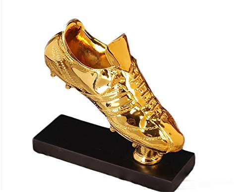 Drivworld Golden Boot Award Shoes Replica The Best Player Trophy Cup Fans Souvenir Collectibles Trophy (Golden Boots)