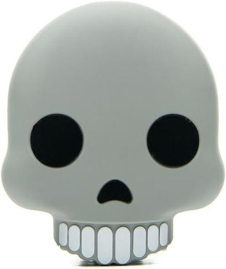 Mojipower 2600 Mah Emoji Skull Icon Portable Power Bank Amazon Co Uk Electronics