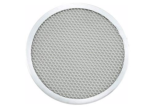 (Winco APZS-7, 7'' Dia Aluminum Seamless Pizza Screen)
