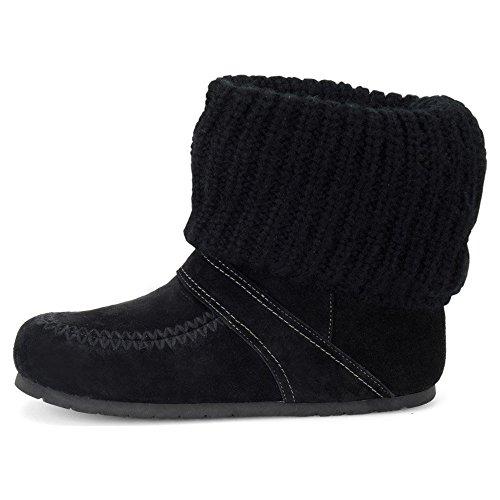 Winter Black Women Velour Sofft Boots Suede Bonita HaWqv