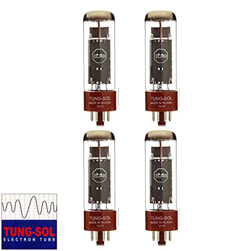 - Tungsol Reissue EL34 Power Vacuum Tube; Matched Quad
