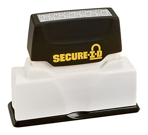 (Cosco Secure I-D Security Stamp, Pre-Ink, 2 3/8