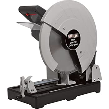 metal cutting saw ironton cut metal saw 14in 15 amps 1450 rpm 10719