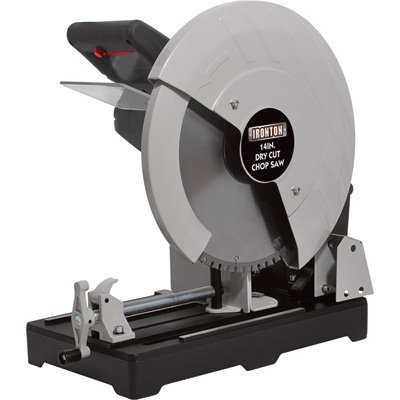 Ironton Dry Cut Metal Saw - 14in., 15 Amps, 1450 RPM