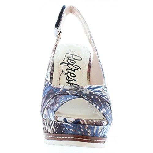Sandales Pour Femme Refresh 62040 Flor Navy