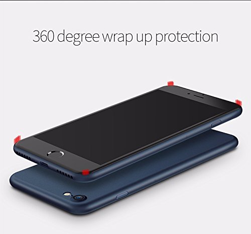 iPhone 7 Case, [ SUKAI ] Slim / Ultra-Thin (0.35mm) PP (Semi-transparent) Thinnest Hard Protect Case Back Cover Bumper Lightweight for iPhone 7. [Grey] by SUKAI (Image #5)