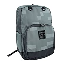 Minecraft Childrens/Kids Official Silver Ore Backpack (One Size) (Pixel Grey)