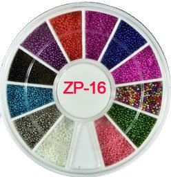 3D Nail Art Charms S/2-4.7Mm Rhinestone In Wheel Design Stone Decorations Strass Jewelry DIY Nailart Adhesive Rhinestones Mix 16