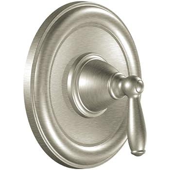 moen t2151bn brantford positemp tubshower valve trim kit without valve brushed nickel