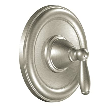 Tub And Shower Valve.Moen T2151bn Brantford Posi Temp Pressure Balancing Traditional Tub And Shower Valve Trim Kit Valve Required Brushed Nickel
