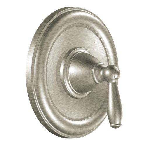 Moen T2151BN Brantford PosiTemp Tub/Shower Valve Trim Kit Without Valve,  Brushed Nickel
