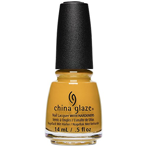 China Glaze Nail Lacquer Polish Ready to WEAR FW'18 Collection - Choose Your Color (1632 - Mustard The Courage) ()