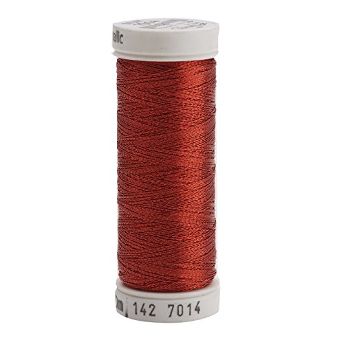 (Sulky 142-7014 Metallic Thread for Sewing, Christmas Red)