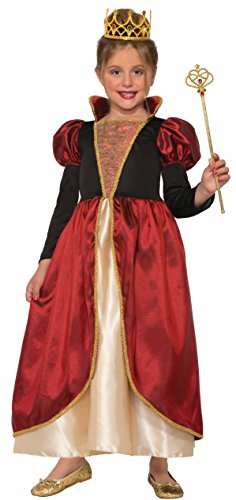 Forum Novelties Kids Medieval Countess Costume, Multicolor, Large (Renaissance Halloween Costume)
