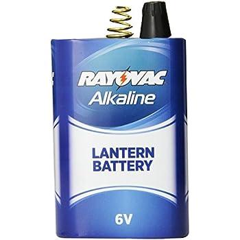 6 Volt Flashlight Batteries