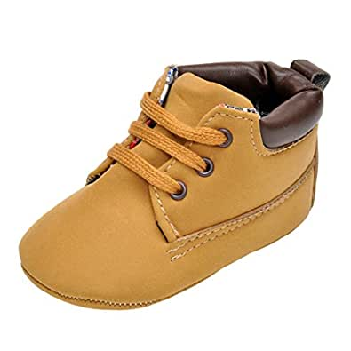 Amazon.com | Annnowl Infant Sneakers Soft Sole Baby Boy ...