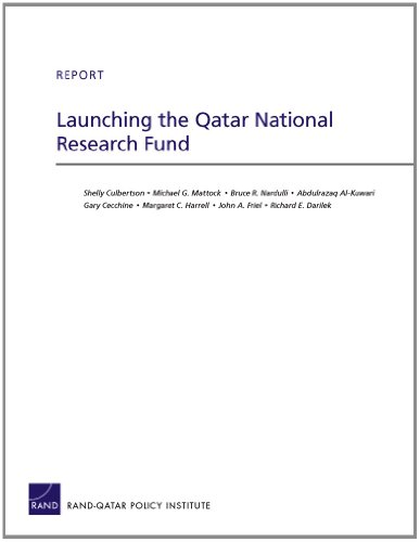 Launching the Qatar National Research Fund (Rand Corporation Technical Report)
