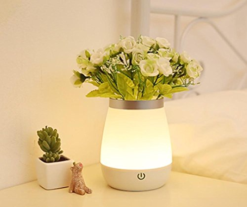 DGS Touch The Bedroom Bedside Lamp Fantasy Personality Flirt Mini Creative Baby Sleep with Sleep Plug Radio