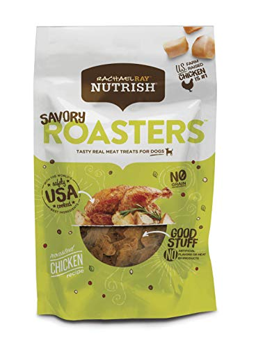 (Rachael Ray Nutrish Savory Roasters Dog Treats, Roasted Chicken Recipe, Grain Free 3 Oz. (Pack Of 8))