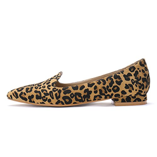 Flats Allegra Toe Brown Slip On Pointed Womens K Loafer 7r8qXxr0w