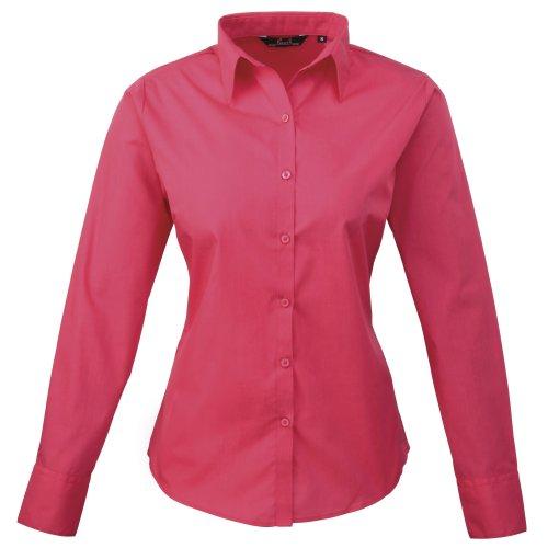 Maniche Donna Lunghe Hot Premier Pink Camicia BHw5WqZ