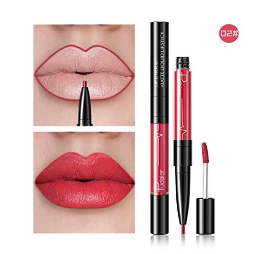 HHBack Double-End Lasting Lipliner Waterproof Lip Liner Stick Pencil 16 -