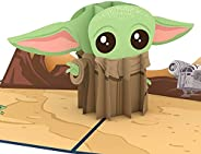 Lovepop Baby Yoda Father's Day Card, 3D Pop-Up Greeting Card, 1 Ct, 5 X 7 Inches, Gifts For