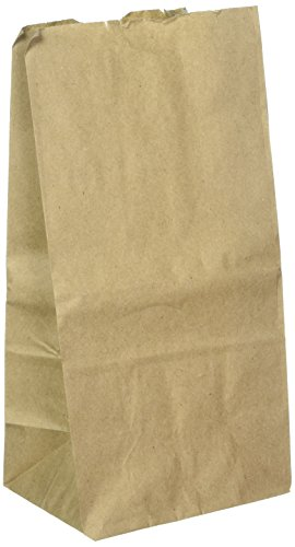 Brown Paper Lunch Bag (40 Bags) XL Heavy Lunch Bags, 60% Larger Than Standard Bags -