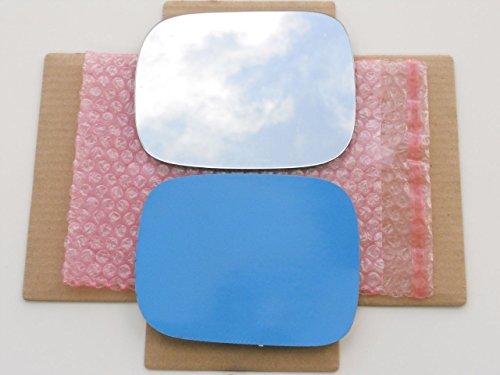 New Replacement Mirror Glass with FULL SIZE ADHESIVE for 200