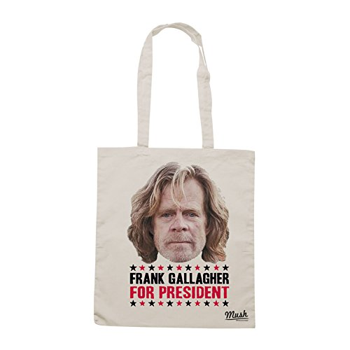 Borsa FRANK GALLAGHER FOR PRESIDENT - Sand - FILM by Mush Dress Your Style