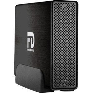 "Micronet Technology – Fantom Drives Gforce/3 4 Tb External Hard Drive – Esata, Usb 3.0 – Brushed Black ""Product Category: Storage Drives/Hard Drives/Solid State Drives"""