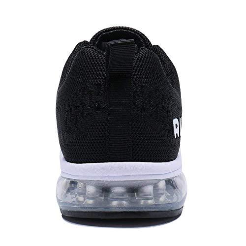 Running Sneakers Cushion Black Tennis amp;white Lightweight Women Shoes Air Sport Men Walking PENGCHENG Cxvw45Hq4