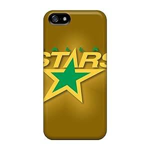 Hot Fashion WvmQyqR6026ZVjtS Design Case Cover For Iphone 5/5s Protective Case (dallas Stars)