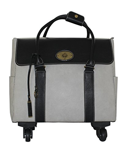 Simply Noelle She's A Boss Roller Bag (Sterling) by Simply Noelle