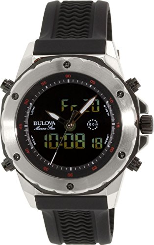bulova-mens-98c119-stainless-steel-watch-with-black-rubber-band