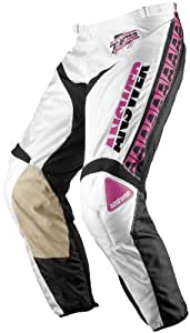 Answer Ion Retro Pants , Color: White/Pink, Size: 34, Size Segment: Adult 453714