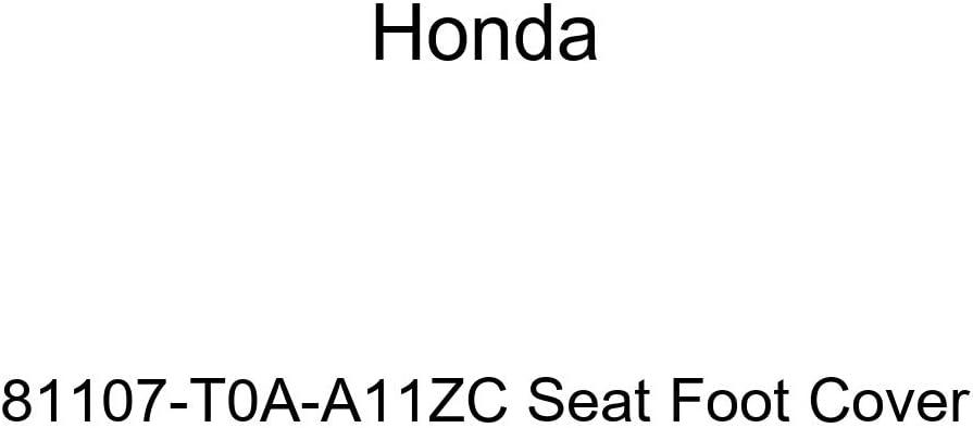 Honda Genuine 81107-T0A-A11ZA Seat Foot Cover