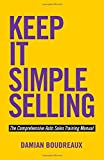 img - for Keep It Simple Selling: The Comprehensive Auto Sales Training Manual book / textbook / text book