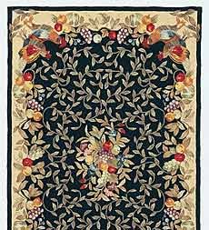 Amazon Com 3 6 X 5 6 Fruit Vines Rooster Rug Brick Home Kitchen