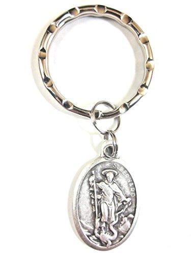 - VPP St Bernard of Montjoux Medal Key Ring Gift Box Prayer Card