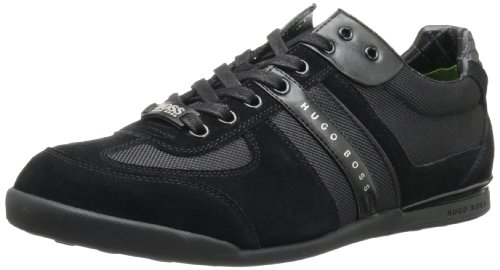 Black by BOSS Suede Hugo Boss Sneaker Men's Green Akeen P4ftw8q