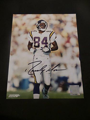 - Randy Moss Signed Minnesota Vikings Autographed 8x10 Photograph