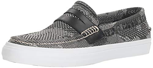 Cole Haan Men's Pinch Weekender LX Stitchlite Loafer, Black/Grey camo Knit, 11 M US