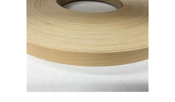 "Birch non glued unfinished 7//8/""x500/' wood veneer edge banding"